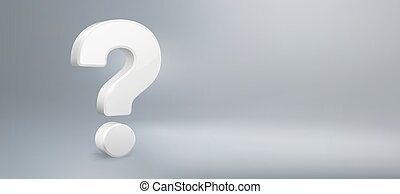 qa., vector, vragen, vraag, realistisch, hebben, meldingsbord, faq, achtergrond, mark., vraag, illustratie, 3d