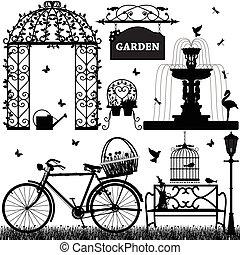 recreatief, park, tuin