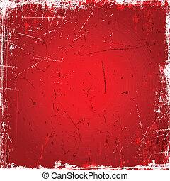 rode achtergrond, grunge