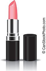 roze, licht, lippenstift