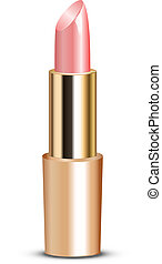 roze, lippenstift