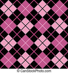 roze, model, argyle, black