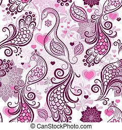 roze, model, het herhalen, valentijn