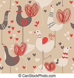 seamless, model, liefdevogels, schattig