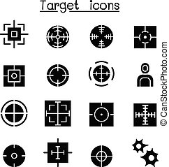 set, doel, pictogram