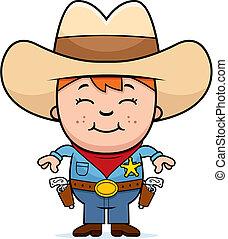 sheriff, geitje