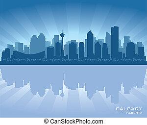 skyline, calgary, canada
