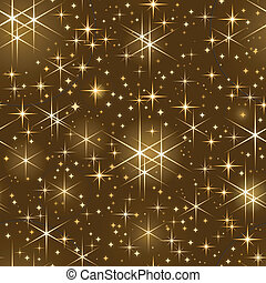 spar, starry hemel, seamless, kerstmis