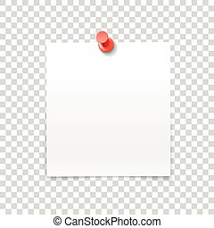 spelden, frame, vrijstaand, papier, achtergrond, transparant