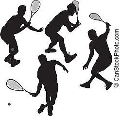 spelers, squash