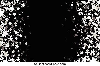 starry, black , achtergrond.