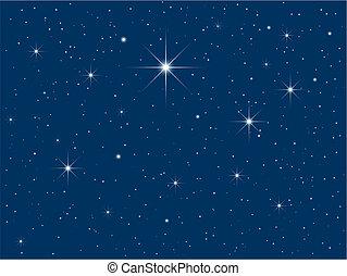 starry hemel