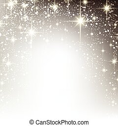 starry, kerstmis, winter, achtergrond.