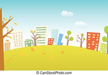 stedelijk landschap