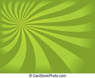 swirly, groene achtergrond