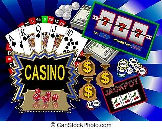 symbolen, casino