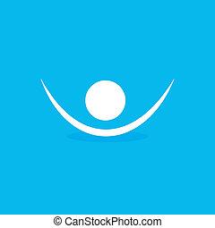 symbool, menselijk, pictogram