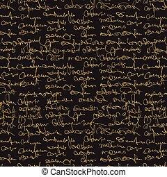 tekst, abstract, pattern., seamless