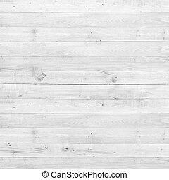 textuur, hout, dennenboom, achtergrond, witte , plank