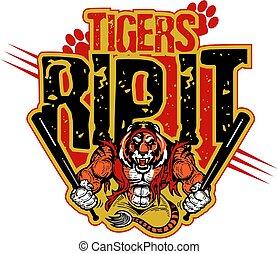 tijgers, rijten, informatietechnologie