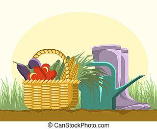 tuinieren, equipments