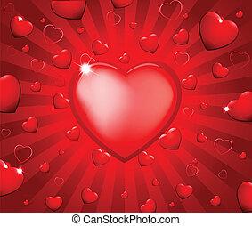 valentijn, achtergrond, abstract