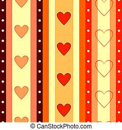 valentijn, achtergrond, seamless, gestreepte