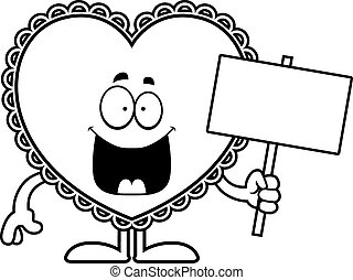 valentijn, spotprent, meldingsbord