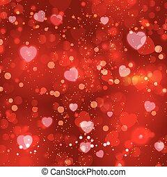 valentine's dag, achtergrond, rood