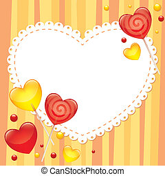 valentine's de kaart van de dag, groet