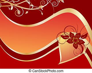valentine`s, kaart