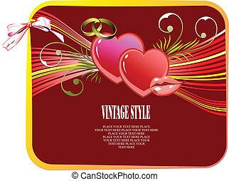 valentine`s, verstand, kaart, groet, dag
