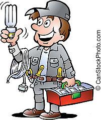 vasthouden, handyman, bol