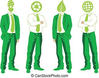 vector, groene handel