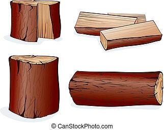 vector, hout