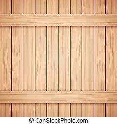 vector, textuur, jouw, achtergrond., hout, plank