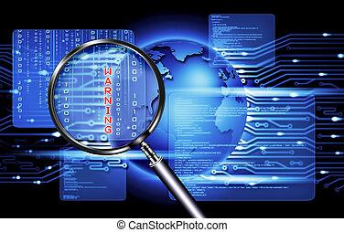 veiligheid, computertechnologie