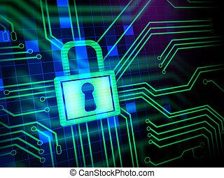 veiligheid, cyber