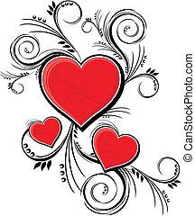 versiering, valentines