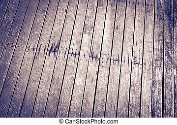 verweerd, siding, achtergrond, muur, houtenvloer