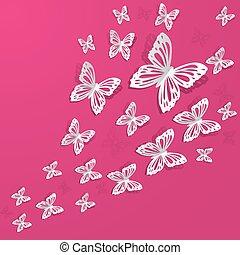vlinder, achtergrond
