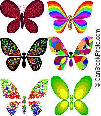 vlinder, artistiek