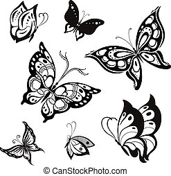 vlinder, vector
