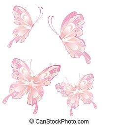 vlinder, vliegen, kunst