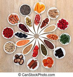 voedingsmiddelen, macht