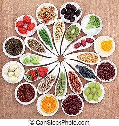 voedingsmiddelen, schotel, gezondheid