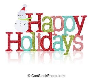 vrolijke , meldingsbord, feestdagen