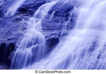 waterfalls.
