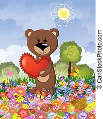 wei, liefde, beer