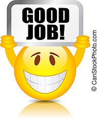 werk, goed, smiley